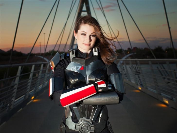 Mass Effect Shepard Mac Wallpaper