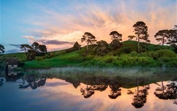 Hobbiton In The Morning Mac wallpaper
