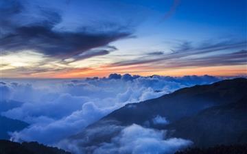 Sea of cloud Mac wallpaper