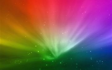 Rainbow Mac wallpaper