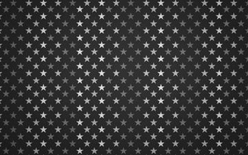 Stars Pattern Black And White Mac wallpaper