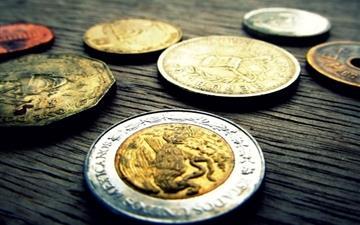 Coins Background Mac wallpaper