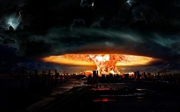 Nuclear Explosion Of Darkness All Mac wallpaper