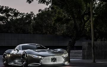 Mercedes Benz Vision Gran Turismo Evening Mac wallpaper