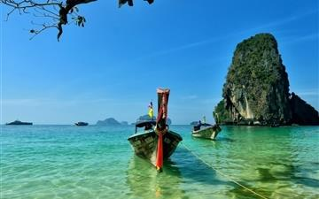 Railay Beach Thailand All Mac wallpaper