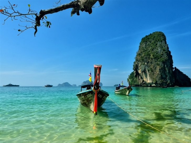 Railay Beach Thailand Mac Wallpaper