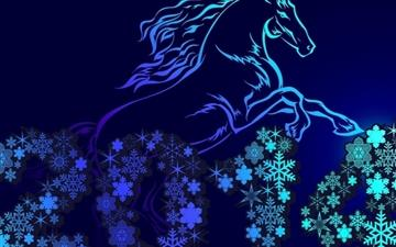 The New Year Of The Horse All Mac wallpaper