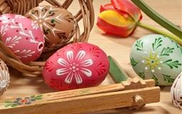 Lovely Painted Easter Eggs