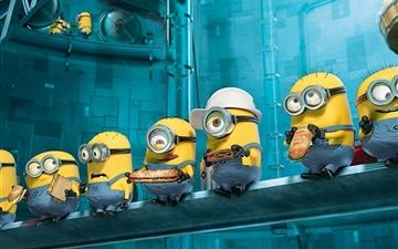 Paradise Minions Despicable Me MacBook Air wallpaper