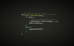 Code text background
