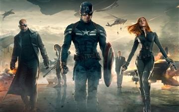 Captain america the winter soldier All Mac wallpaper