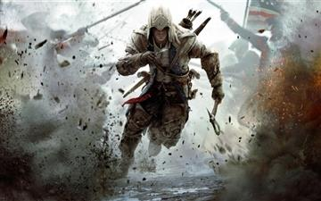 Assassins Creed 3 Connor Free Running Mac wallpaper