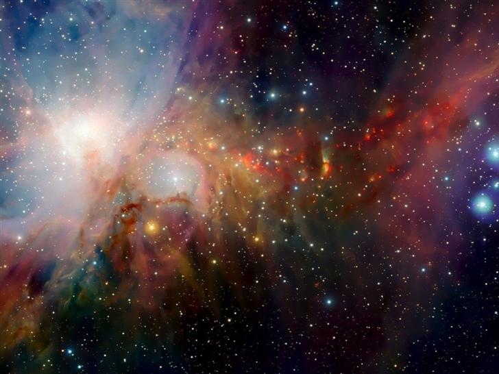 Colorful Nebula Mac Wallpaper