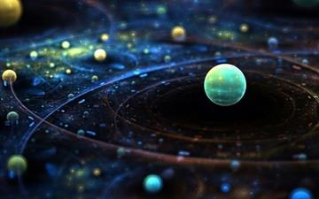 Outer Space Fantasy Mac wallpaper