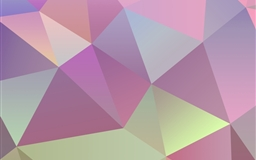 Pastel Polygon Vector