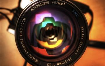 Camera Lens Close Up Mac wallpaper