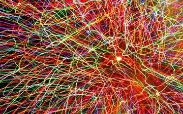 Painting With Fireworks All Mac wallpaper