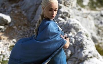 Daenerys Targaryen In Game Of Thrones Mac wallpaper