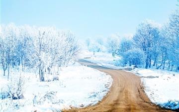 Snow Way Mac wallpaper