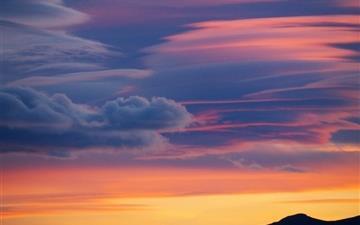 The Evening Cloud Mac wallpaper