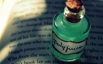Book Bottle Drink All Mac wallpaper