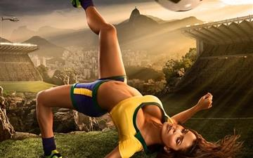 2014 Brazil Fifa World Cup Hot Mac wallpaper