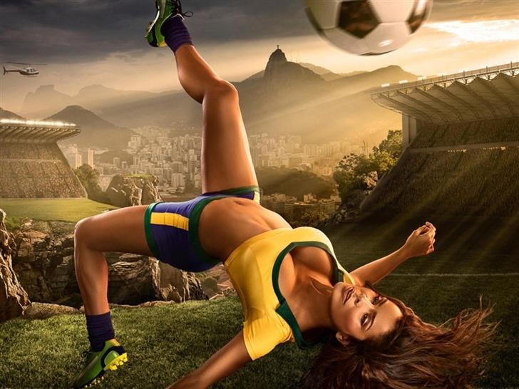 2014 Brazil Fifa World Cup Hot Mac Wallpaper