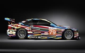 BMW M3 GT 2 Art Side Mac wallpaper