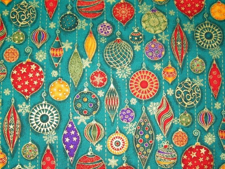 Christmas Decorations Pattern Mac Wallpaper
