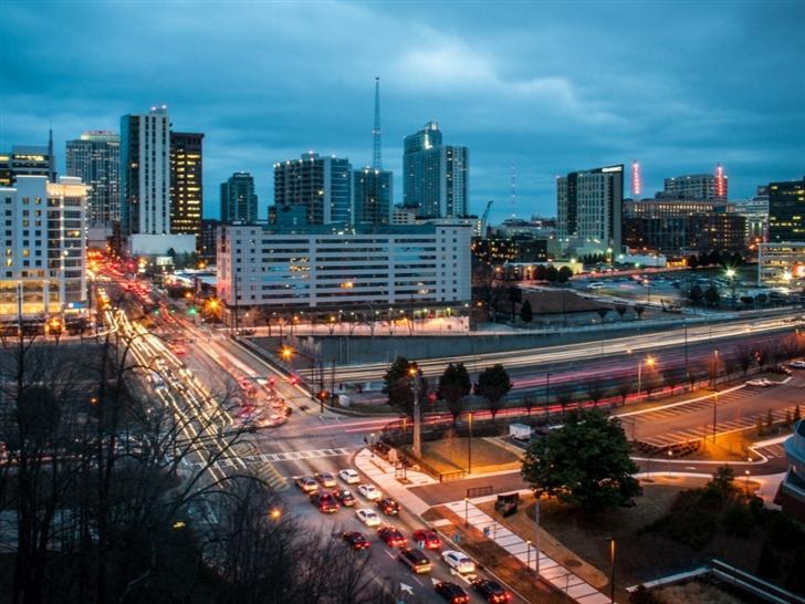 Downtown Atlanta Mac Wallpaper