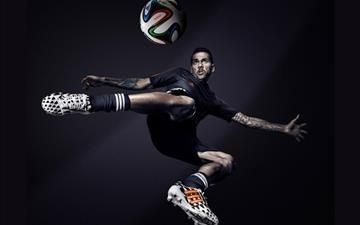 Dani Alves Brazil Adidas 2014 Fifa World Cup MacBook Air wallpaper