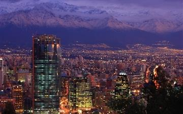 Santiago Chile All Mac wallpaper