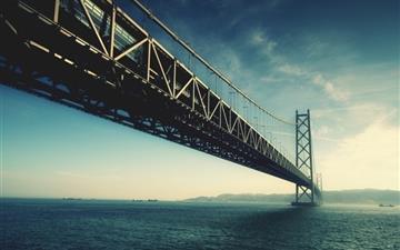 Cross Sea Bridge Mac wallpaper