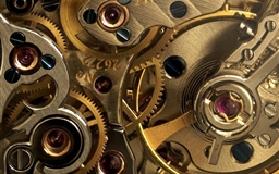 Golden Watch Gears