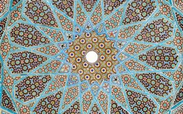Tomb Of Hafez Mac wallpaper