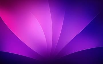Purple Leaves Abstract All Mac wallpaper