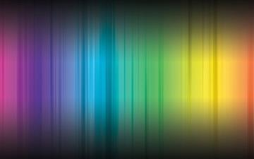 Rainbow Color Paints Mac wallpaper