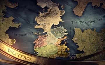 Westeros map Mac wallpaper