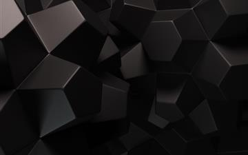 Geometric Shapes 3D Mac wallpaper
