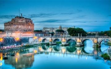 Castel santangelo rome Mac wallpaper