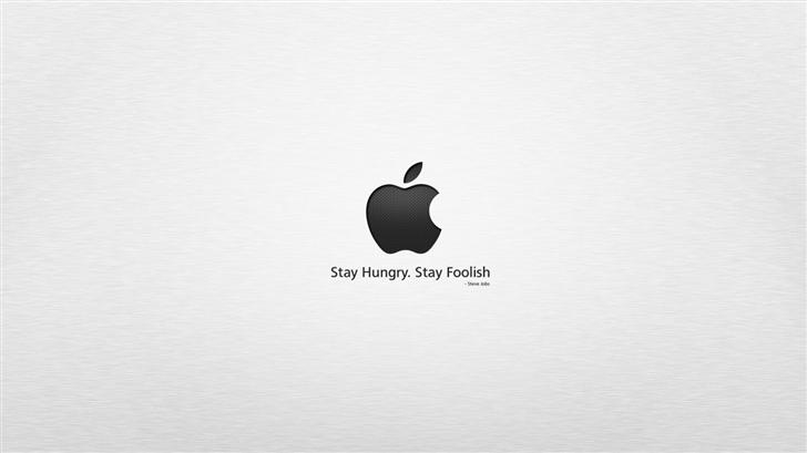 Stay hungry stay foolish Mac Wallpaper