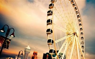 Happy Ferris Wheel Mac wallpaper