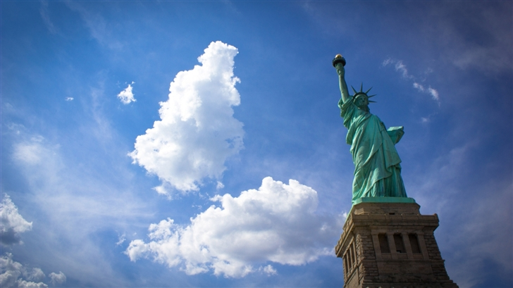 Statue of Liberty Mac Wallpaper