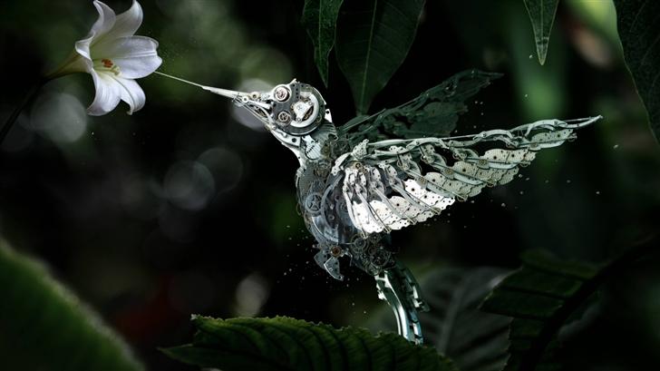 Mechanical bird Mac Wallpaper