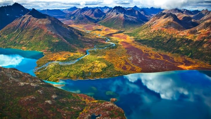 Glorious landscape Mac Wallpaper