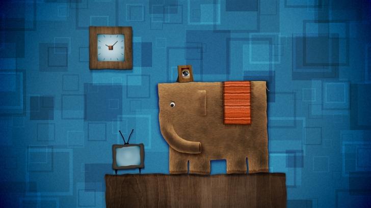 Elephant Family Mac Wallpaper