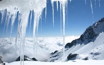 Ice Worlds Mac wallpaper