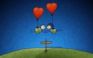 Love has no boundaries Mac wallpaper