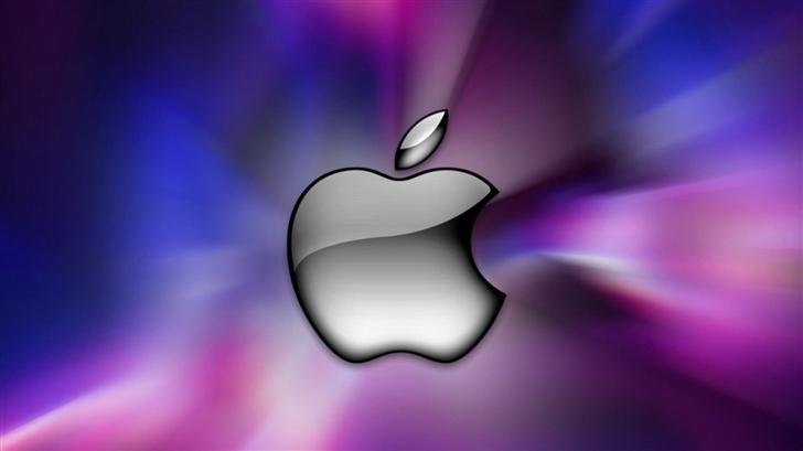 Apple Logo 1 Mac Wallpaper
