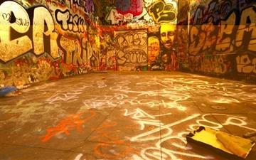The street graffiti  Mac wallpaper